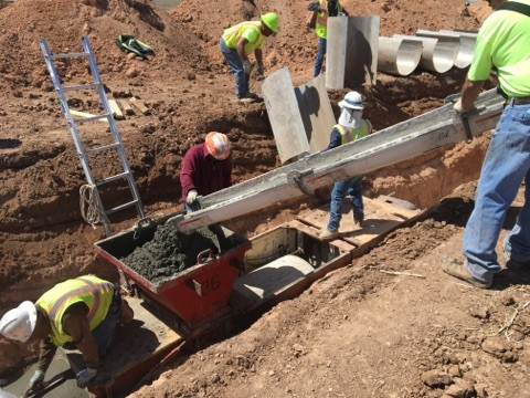 Cast in Place Storm Sewer